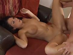german Teen gets fucked in pussy and mouth