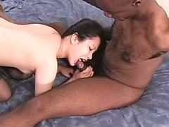 Japanese American Fucked by a BBC