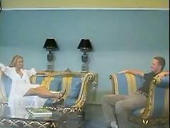 Hot Blonde Gets Fucked After An Interview