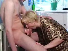 Nasty Fat Old Bitch Likes To Be Fucked By Boy