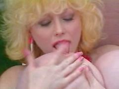 Big Fake Titted Blonde Milf Gets Railed Outdoors