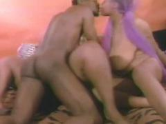 Two Black Girls With Huge Tits Fuck A White Guy
