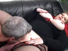German Milf With Big Fat Tits Gets Her Fill Of Dick