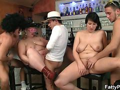 Big Amateur Girl With Huge Tits Gets Fucked By Two Guys