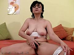 Nasty Mature Wants To Show Off Her Hairy Jungle