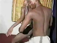 Nice Ebony Milfs Dancing And Stripping At Home