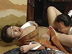 Older Business Men Pleasure Themselves With Asian Pussy