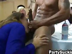 Bachelorette Party Girls Get Crazy With Stud Stripper