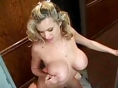 Briana gets her ass fucked in the hallway