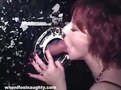 Gloryhole surprise